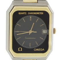 Omega Constellation Chronometer 14K Yellow Gold Steel Quartz 40mm