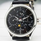 Jaeger-LeCoultre Master Perpetual SS Black Dial