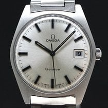 Omega Geneve White dial Caliber 613 aus 1970 Super Zustand