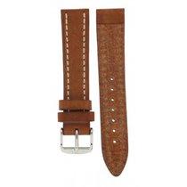 Hirsch Liberty Honey Brown Thick Calf Strap 20mm