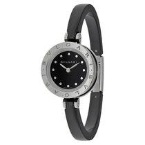 Bulgari B Zero 1 Black Dial Ceramic Ladies Watch