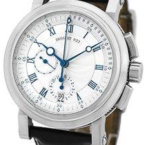 """Breguet """"Marine Chronograph"""" Strapwatch."""