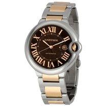 Cartier BALLON BLEW  W6920032 Automatic Watch 42 mm Chocolate...