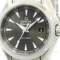 オメガ (Omega) Polished Omega Seamaster Aqua Terra Ladies Watch...