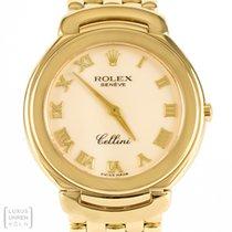 Rolex Uhr Cellini 750er Gold Quarz Ref. 6623/8