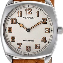 Movado Museum Camel Leather Strap 0605628