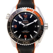 Omega Seamaster Stainless Steel Black Automatic 215.32.44.21.0...