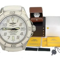 Breitling Super Ocean Stainless Steel Automatic White Dial...