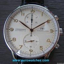 IWC Portugieser Chrono Automatic white dial