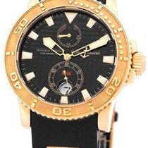 """Ulysse Nardin Gent's 18K Rose Gold  """"Maxi Marine Diver..."""