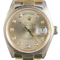 Rolex Day-Date President 18078 18k Yellow Gold Bark 36mm...