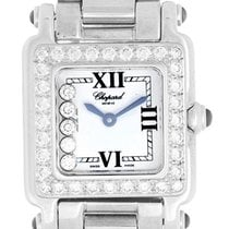 Chopard Happy Sport Ladies 5 Floating Diamonds 18k White Gold...
