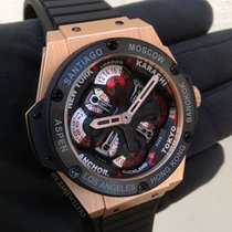 Hublot King Power Unico GMT Gold Black
