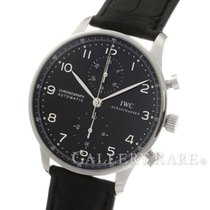 "IWC Portugieser Chronograph Black Dial Steel 40.9MM ""New..."