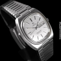 Omega 1983 Seamaster Vintage Mens TV Watch, Automatic, Day Date -