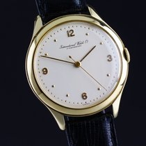 IWC GOLD vintage dress watch