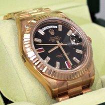 Rolex President Day-date II 218235 18k Rose Gold Diamonds...