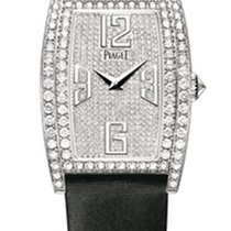 Piaget G0A36193 Limelight Tonneau in White Gold with Diamond...