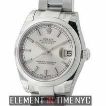 Rolex Datejust Stainless Steel Silver Index Dial 31mm Ref. 178240
