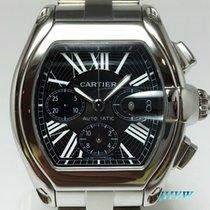 卡地亚 (Cartier) Roadster XL chronograph.