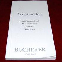 Carl F. Bucherer Bedienungsanleitung Buch/Heft