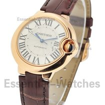 Cartier W6920069 Ballon Bleu 33mm Automatic - Rose Gold on...