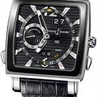 Ulysse Nardin Quadrato Dual Time Perpetual Mens Watch