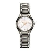 Rado Ladies True MOP Dial Plasma High-tech Ceramic Watch