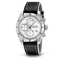 Eberhard & Co. Champion V cronografo, quadrante bianco,...