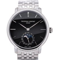 Frederique Constant Slim Line 42 Moonphase Blue Steel