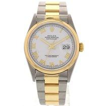 Rolex Men's Rolex Oyster Perpetual Datejust 16203 18k / SS