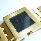 Bulgari Ladies   Quadrato 18k Gold Quartz Watch $19K Retail...