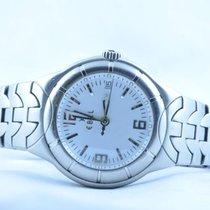 Ebel Herren Uhr E-type 39mm Stahl/stahl Quartz Weiss €918...
