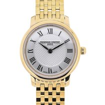 Frederique Constant Slim Line Full Gold Plated Silver Dial
