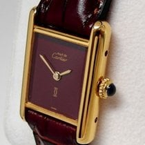 Cartier Ladies' Tank Silver 925/20 Microns Gold