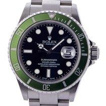 Rolex Submariner Date 40mm Ghiera Verde Fat Four Mark I...