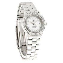 TAG Heuer Aquaracer Diamond Ladies MOP Swiss Quartz Watch...