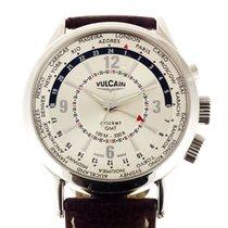 Vulcain Cricket GMT Alarm 44mm Ref 100108.028