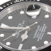 Rolex Mens SS Submariner - Black Dial w/ Inner Bezel Engraving
