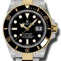 Rolex Submariner Date - Two Tone Black Ceramic Dial