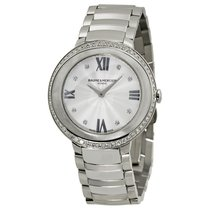 Baume & Mercier Baume et   Promesse Silver Dial Stainless...