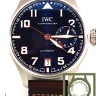 IWC Big Pilot limited ed blue dial Le Petit Prince 500908 NEW