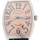 Franck Muller Casablanca Salmon 6850 Stainless Steel Automatic...