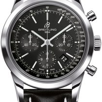 Breitling Men's AB015212/BA99/435X Transocean Chronograph