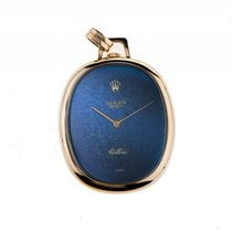 Rolex Cellini Taschenuhr Frackuhr 18kt Gelbgold Handaufzug...
