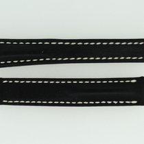Breitling Kalbslederband 15/14 Länge 95/80 Schwarz