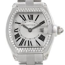 Cartier Roadster 18k White Gold Diamond Ladies Watch We5002x2