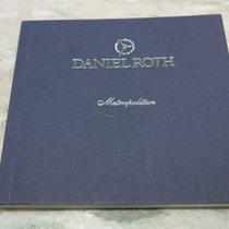 "Daniel Roth vintage warranty booklet blank for ""metropolit..."