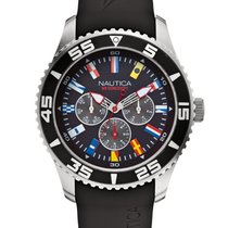 Nautica NST 07 Flag A12626G Multifunktion 44 mm 10 ATM