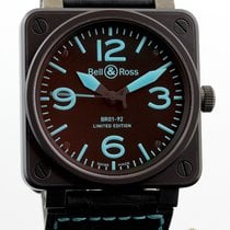 Bell & Ross BR01-92 SBLU Blue Limited Edition 500 pieces